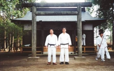 Takayasu & Derek Sensei